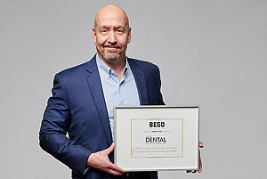 Axel Klarmeyer, President of BEGO USA, is proud that BEGO has been named as one of the Top 10 Dental Solution Providers of 2018 by the Healthcare Tech Outlook magazine.