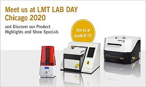 Meet BEGO USA at the LMT Lab Day Chicago from February 21st to 22nd, 2020 at booth H-13 and discover our latest 3D printer Varseo XS, specially tailored for dental 3D printing as well as our improved casting devices