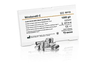 Wirobond® C – Cobalt-chrome metal-ceramic alloy