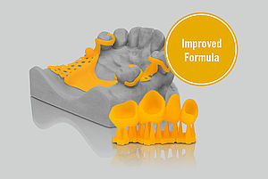 VarseoWax CAD/Cast is now available with improved formula.