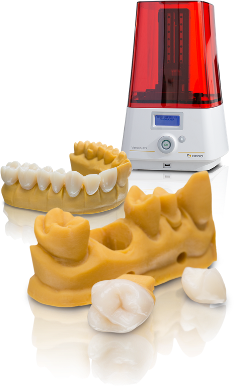 BEGO 3D printing system – Varseo 3D printing solutions tailored for dental 3D printing